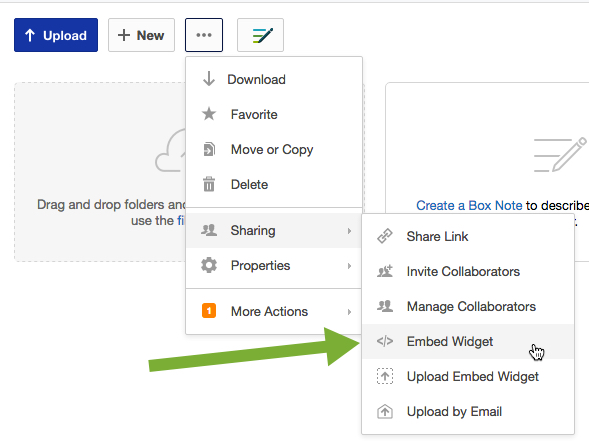 Ctei sharing a box folder in canvas for Sharing documents in box
